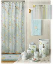 Creative Bath shower curtains and ceramic accessories