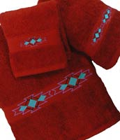 Kellsson Linens Embroidered Towels